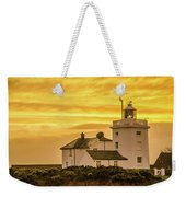Sundown At The Lighthouse Weekender Tote Bag