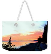 Sundown From West Vancouver Weekender Tote Bag