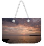 Sundown Over The Adriatic Coastline Weekender Tote Bag