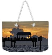 Sundown Pier Weekender Tote Bag