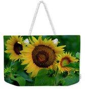 Sunflower 2017 9 Weekender Tote Bag