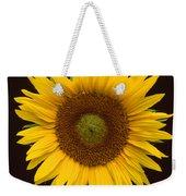 Sunflower 3 Weekender Tote Bag