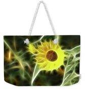 Sunflower-5030-fractal Weekender Tote Bag
