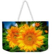 Sunflower 9 Weekender Tote Bag