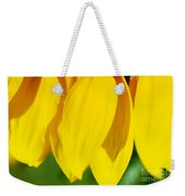 Sunflower Abstract Weekender Tote Bag