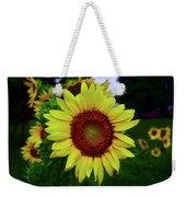 Sunflower After A Summer Rain Weekender Tote Bag