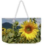 Sunflower And Peaks Of Otter Weekender Tote Bag