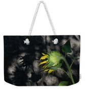 Sunflower And Shadow Weekender Tote Bag
