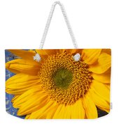 Sunflower And Skeleton Key Weekender Tote Bag