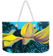 Sunflower And Spider Weekender Tote Bag
