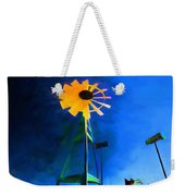 Sunflower And The Wind Spirit Weekender Tote Bag