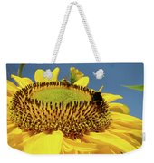 Sunflower Art Prints Honey Bee Sun Flower Floral Garden Weekender Tote Bag