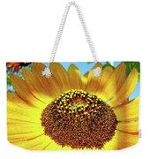 Sunflower Art Prints Orange Yellow Floral Garden Baslee Troutman Weekender Tote Bag