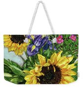 Sunflower Bouquet Weekender Tote Bag