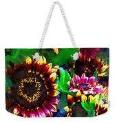 Sunflower Carnival Weekender Tote Bag