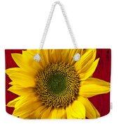 Sunflower Close Up Weekender Tote Bag