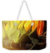 Sunflower Crown Weekender Tote Bag