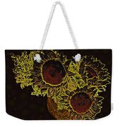 Sunflower Decor 10 Weekender Tote Bag