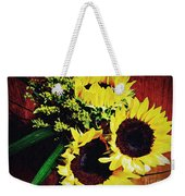 Sunflower Decor 3 Weekender Tote Bag