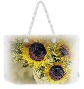 Sunflower Decor 9 Weekender Tote Bag