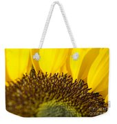 Sunflower Detail Weekender Tote Bag