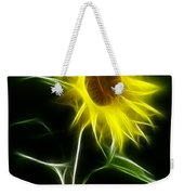 Sunflower Display Weekender Tote Bag