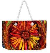 Sunflower Emblem Weekender Tote Bag