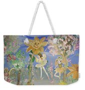 Sunflower Fairies Weekender Tote Bag