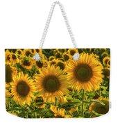 Sunflower Family Weekender Tote Bag