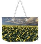 Sunflower Fields Near Denver International Airport Weekender Tote Bag
