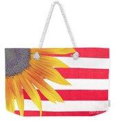 Sunflower Flag Weekender Tote Bag