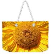 Sunflower Head  Weekender Tote Bag