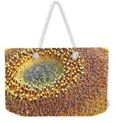 Sunflower Heart Weekender Tote Bag
