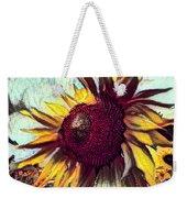 Sunflower In Deep Tones Weekender Tote Bag