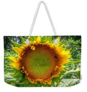 Sunflower In Mocksville Weekender Tote Bag by Ben Shields