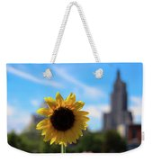 Sunflower In Providence Weekender Tote Bag