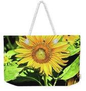 Sunflower Weekender Tote Bag by Jessica Manelis