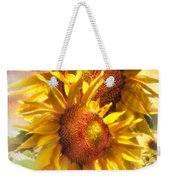 Sunflower Light Weekender Tote Bag