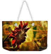 Sunflower Weekender Tote Bag by Lois Bryan