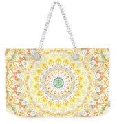 Sunflower Mandala- Abstract Art By Linda Woods Weekender Tote Bag by Linda Woods