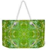 Sunflower Mandala Weekender Tote Bag