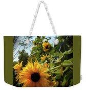 sunflower No.8 Weekender Tote Bag