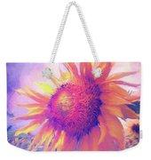 Sunflower Oil Painting Weekender Tote Bag
