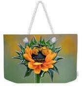 Sunflower Opens Weekender Tote Bag