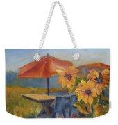 Sunflower Picnic Weekender Tote Bag