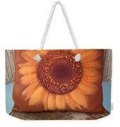 Sunflower Pillow Weekender Tote Bag