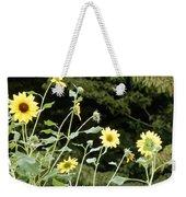 Sunflower Sea Of Happiness Weekender Tote Bag