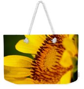 Sunflower Side Light Weekender Tote Bag
