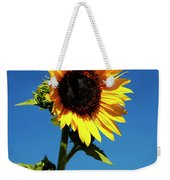 Sunflower Stand Alone Weekender Tote Bag