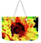 Sunflower Sunburst Weekender Tote Bag